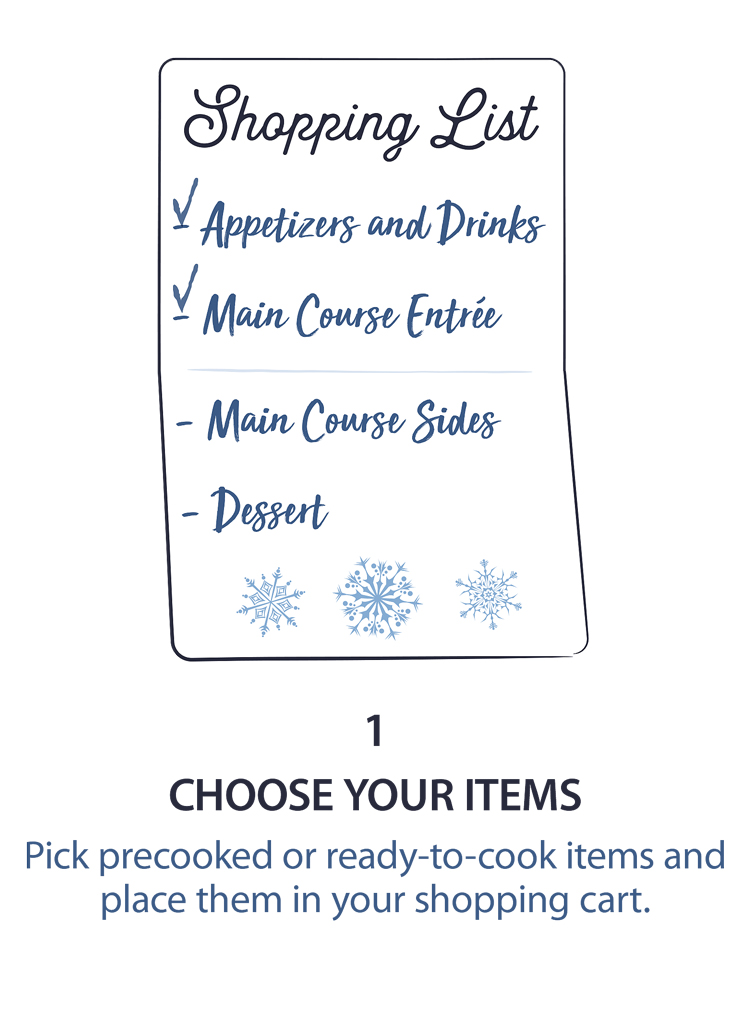 1 - Choose Your Items
